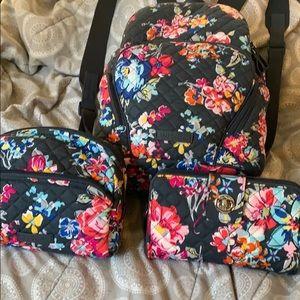 Vera Bradley three-piece set